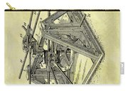 1896 Oil Rig Illustration Carry-all Pouch