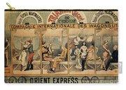 1896 Orient Express Musical Revue Paris Carry-all Pouch
