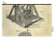 1897 Oil Rig Patent Carry-all Pouch