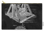 1897 Oil Well Rig Patent Design Carry-all Pouch