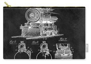 1898 Locomotive Headlight Patent Carry-all Pouch