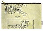 1899 Horse Racing Track Patent Carry-all Pouch