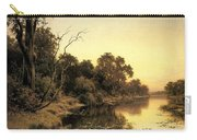 Johnstone Henry James A Backwater Of The River Murray South Australia Henry James Johnstone Carry-all Pouch