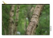 Shallow Depth Of Field Landscape Of Vibrant Bluebell Woods In Sp Carry-all Pouch
