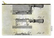 1900 Knife Switch Patent Carry-all Pouch