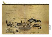 1904 Fishing Decoy Patent Carry-all Pouch