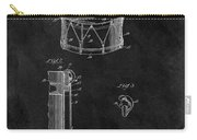 1905 Drum Patent Illustration Carry-all Pouch