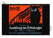 1907 Berlin Exposition Poster Carry-all Pouch