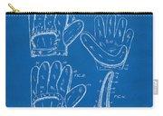 1910 Baseball Glove Patent Artwork Blueprint Carry-all Pouch