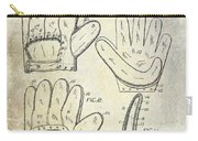 1910 Baseball Glove Patent  Carry-all Pouch
