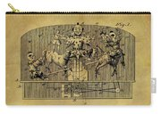 1910 Toy Circus Patent Carry-all Pouch