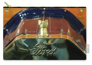 1911 Ford Model T Runabout Hood Ornament Carry-all Pouch by Jill Reger