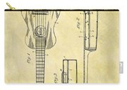 1911 Guitar Patent Carry-all Pouch