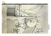 1914 Drum And Cymbal Patent Carry-all Pouch
