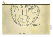 1916 Baseball Glove Patent Carry-all Pouch