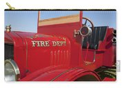 1919 Volunteer Fire Truck Carry-all Pouch