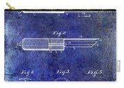 1920 Paring Knife Patent Blue Carry-all Pouch