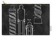 1921 Barber Pole Illustration Carry-all Pouch