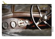 1921 Bentley Steering Wheel -0454ac Carry-all Pouch