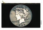 1922 Ghost Peace Dollar Carry-all Pouch