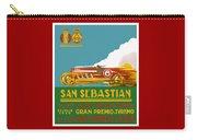 1926 San Sebastian Grand Prix Racing Poster Carry-all Pouch