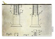 1926 Toy Filling Station Patent Carry-all Pouch