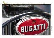 1928 Bugatti Hood Emblem Carry-all Pouch