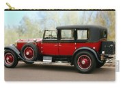 1928 Rolls-royce Phantom 1 Carry-all Pouch