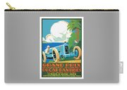 1929 Cap D'antibes Grand Prix Racing Poster Carry-all Pouch