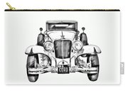 1929 Cord 6-29 Cabriolet Antique Car Illustration Carry-all Pouch