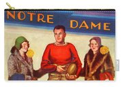 1929 Notre Dame Versus Southerncal Carry-all Pouch