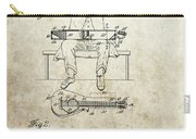 1929 Steel Guitar Patent Carry-all Pouch