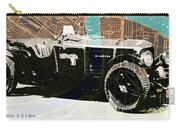 1930 Bentley 4.5 Litre Over New Orleans Old Map Carry-all Pouch