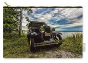 1930 Chevy On The Shore Of Higgins Lake Carry-all Pouch