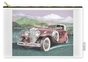1930 Model J  Duesenberg Carry-all Pouch