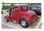 1930 Red Ford Model A-rear-8902 Carry-all Pouch