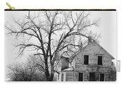 1930's Abandoned Farm House Near Aberdeen South Dakota 1965  Carry-all Pouch