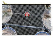 1931 Cadillac Phaeton Grille And Headlights Carry-all Pouch