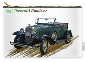 1931 Chevrolet Antique Roadster Carry-all Pouch