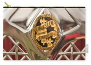 1931 Chrysler Cg Imperial Lebaron Roadster Grille Emblem Carry-all Pouch by Jill Reger