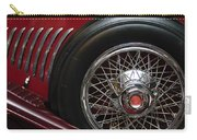 1931 Duesenberg Model J Spare Tire Carry-all Pouch