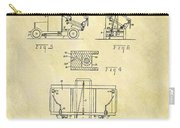 1931 Dump Truck Patent Carry-all Pouch