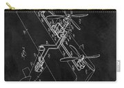 1931 Plane Patent Carry-all Pouch