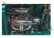 1931 Teal Chevy Hot Rod Motor Carry-all Pouch