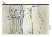 1932 Baseball Cleat Patent Carry-all Pouch