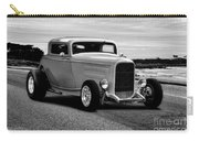 1932 Ford Coupe 'black And White' Carry-all Pouch