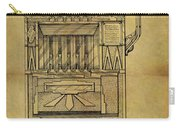 1932 Slot Machine Patent Carry-all Pouch