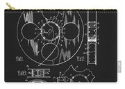 1933 Film Reel Patent Carry-all Pouch
