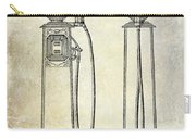 1933 Gas Pump Patent Carry-all Pouch