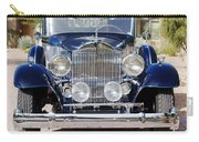 1933 Packard 12 Convertible Coupe Carry-all Pouch by Jill Reger
